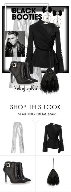 """blackbooties"" by neko-m-tucker-smith ❤ liked on Polyvore featuring Bouguessa, Adeam, Stella Luna and Attico"