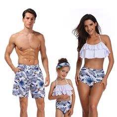 Family matching swimwear bikini beach shorts father son mommy and me clothes mom family outfits mother and daughter swimsuit Baby Swimwear, Bikini Swimwear, Bikinis, Men Swimwear, Mommy And Me Swimwear, Men's Swimsuits, Bikini Beach, Shorts Style, Men's Shorts