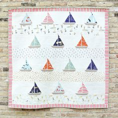 Free Ahoy Sailor Quilt Pattern Patterns Free And Babies
