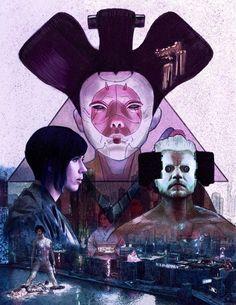 'Ghost in the Shell' by Chris Hernandez aka Chris Hdz