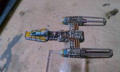 Star Wars Y-Wing Repaint