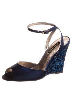 Victoria Delef - High Heel Sandalette - marino