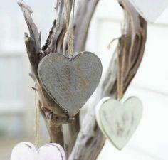 .support en bois flotte et coeurs de bois patine