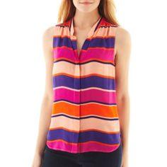 St. John'S Bay® Sleeveless Shirt - JCPenney