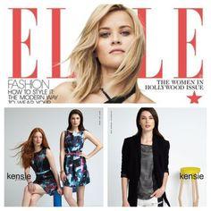 Kensie as seen in Elle Magazine, November 2013