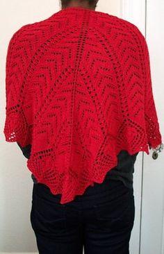 Ravelry: Jasmine Shawl (100% Silk) pattern by Cheri McEwen