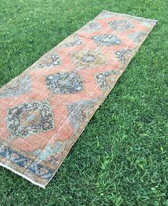 Your place to buy and sell all things handmade Cleaning Items, Hallway Rug, Hallway Decorating, Runes, Rug Runner, Bohemian Rug, Boho, Hand Weaving