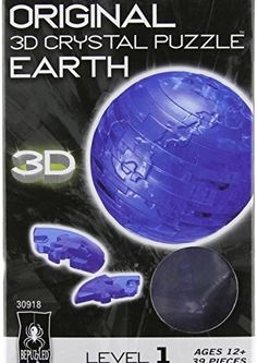 3D Crystal Puzzle – Earth