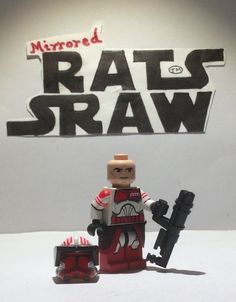 Lego Star Wars minifigure Clone Custom Troopers - Commander Thorn SPECIAL