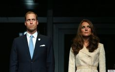 Kate & William look distressed at 2012 London Paralympics