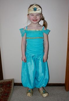DIY Disney Costumes For Girls: Jasmine
