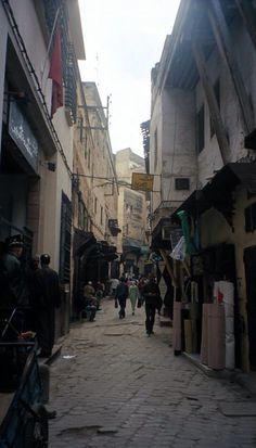 Calles antiguas Fez Medina