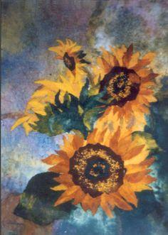 Chigiri-e - Helen Lin - Sun Flower