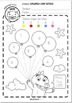 1 million+ Stunning Free Images to Use Anywhere Letter Worksheets For Preschool, Kindergarten Coloring Pages, Preschool Writing, Kindergarten Math Worksheets, Preschool Learning Activities, Teaching Kids, Kids Learning, Creative Activities For Kids, Math For Kids