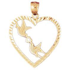 CleverEve's 14K Gold Pendant Heart 1.2 - Gram(s) CleverEve. $143.99