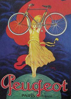 1922 ad for Peugeot bicycles.  @copenhagenize.com