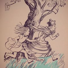 Print of Alice in Wonderland