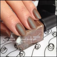 Formula X Determined Brushed Metallics Sephora. Fall 2014. Click thru for full collection swatches @ imabeautygeek.com!