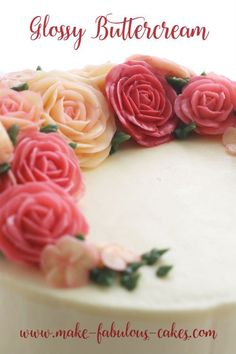 Learn how to make fabulous buttercream flowers with this online class. Over 3 hours of video lessons on how to make buttercream flowers for cake that can be accessed anytime, anywhere. Buttercream Flower Cake, Buttercream Recipe, Frosting Recipes, Italian Buttercream, Frosting Flowers, Italian Meringue, Ultimate Chocolate Cake, Chocolate Hazelnut Cake, Velvet Cake