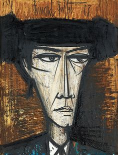 Bernard Buffet, Matador.  See The Virtual Artist gallery: www.theartistobjective.com/gallery/index.html