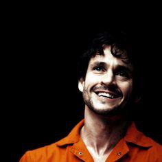Hannibal. Hugh Dancy (Will Graham)*gif More smiles! More laughs!