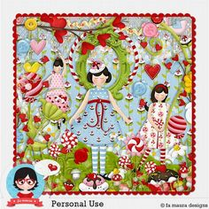 Kit Digita de Lançamento Jardim de Doces by Fa Maura Designs...   http://famaura.com/shop/index.php?main_page=product_info&cPath=3&products_id=1896#.U-zZ3fldXd4