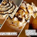 Starbucks Secret Menu - Cinnamon Toast Crunch Frappuccino?! Butterbeer Latte?! YESYESYES