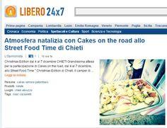#cakesontheroad #streetfood #Chieti Tratto da http://247.libero.it/rfocus/24635589/1/atmosfera-natalizia-con-cakes-on-the-road-allo-street-food-time-di-chieti/
