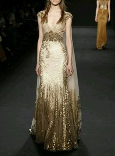 Gown for Eowyn - Badgley Mischka