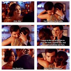 Aria and Ezra. Pretty Little Liars. Pretty Little Liars Aria, Pretty Little Liars Quotes, Ezra And Aria, Ezra Fitz, You Found Me, Abc Family, Tv Quotes, Wattpad, Best Shows Ever