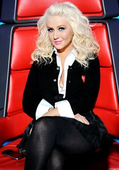 Christina Aguilera - For her fearlessness, not letting people define her and for being comfortable in her own skin.