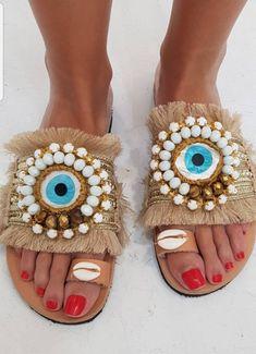 Bridal Sandals, Boho Sandals, Fringe Sandals, Greek Sandals, Shoes Sandals, Heels, Bohemian Shoes, Beautiful Sandals, Most Comfortable Shoes