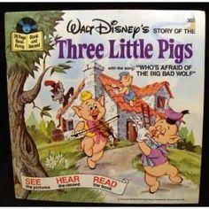 Walt Disney Records   Walt Disneys Read Along Book & Record the Story of the