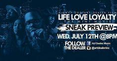 @Regrann from @artdealerinc -  Tomorrow night log on at 8pm I got something I want you to see #lifeloveloyalty #dealermusic #mefime #hiphop #culture #rapblog #musicblogs #musicnews #movienews  #Explore #MMV www.biglifemmv.com - #regrann
