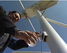 Cool! Turbine Turns Air into Drinkable Water #manufacturingiscool