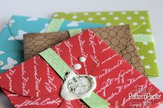 Handmade Gift Card Envelopes ⋆ Visit our blog follow her simple step by step instructions to make your own...   #BasicEssentials #Cardmaking #Handmade #HandmadeWithLove Craft Projects, Craft Ideas, Make Your Own, How To Make, Card Envelopes, Classic Collection, Pattern Paper, Step By Step Instructions, Scrapbook Paper