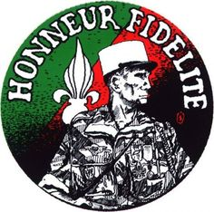 PARTAGE DE NOS AMIS , LA LÉGION .........SUR FACEBOOK.............. North Vietnam, Vietnam War, Military Art, Military History, Army Patches, French Foreign Legion, French Army, Special Forces, Badge