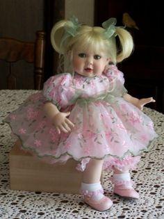 Nancy Peterson's Personal Collection. Lenox Springtime, 2006, Sculpted by Karen Scott.  A Marie Osmond Doll