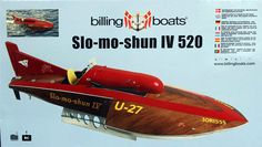 Slo-mo-shun IV - Dave Abbott reviews the Billing Boats kit of a very famous craft