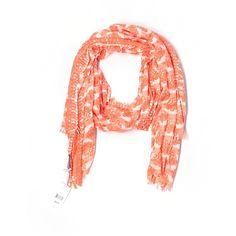 Vineyard Vines Scarf ($34) ❤ liked on Polyvore featuring accessories, scarves, orange, orange scarves, cotton scarves, orange shawl, vineyard vines and cotton shawl