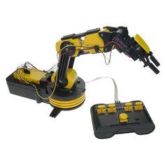 Roboterarm Bausatz -,   http://viral-total.de/spielzeuge-spiele/roboterarm-bausatz/    Foto: Roboterarm Bausatz  69,95 EUR  Jetzt bestellen   Beschreibung von Roboterarm Bausatz Der Roboterarm ist mit 5 beweglichen, einzeln steuerbaren Gelenken ausgestattet, die eine unglaubliche Fülle an Einsatzmöglichkeiten zulassen! Der Arm an sich ist um 270° drehbar, die... #Getdigital