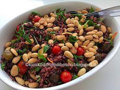 Kiosko di frutti di bosco: Insalata di riso bicolore