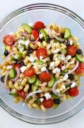 http://www.justataste.com/greek-pasta-salad-red-wine-vinaigrette-recipe/