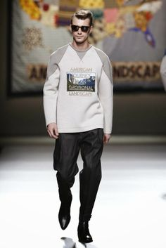 Ana Locking Fall/Winter 2014 | Mercedes-Benz Fashion Week Madrid #MBFWM | Male Fashion Trends