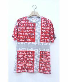 mintdesigns(ミントデザインズ)のMENS T-SHIRT(Tシャツ/カットソー)|レッド