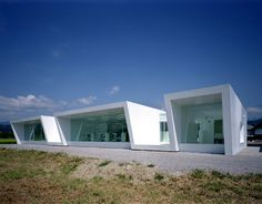 Minami-Nagano Dental Clinic and Residence is a complex of dental clinic as well as the residence of the dentists. Designed by young Japanese architect Hiroki Tanabe, this clinic is located at the suburbs of Nagano, Japan.