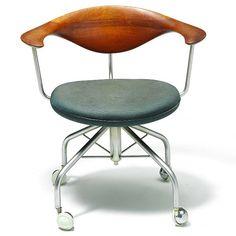 Wegner Swivel Chair Danish Furniture, Swivel Chair, Vanity Bench, My Design, Study, Fashion Design, Interiors, Inspiration, Home Decor