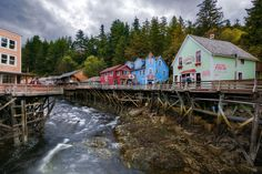Alaska: Creek Street | The most beautiful places in each state