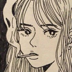 beige and black line art. Pretty Art, Cute Art, Aesthetic Art, Aesthetic Anime, Aesthetic Drawing, Brown Aesthetic, Art Sketches, Art Drawings, Indie Drawings