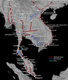 How to Travel Around South East Asia